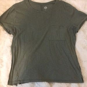 Olive Green Pocket Shirt
